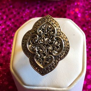 Sterling Silver Statement Ring WOW